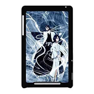"PC-Beauty Kuchiki Rukia And Aizen Sousuke Black Print Hard Android Tablet Cover Case for Google Nexus 7-Cartoon ""BLEACH"""