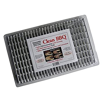 Clean BBQ – Disposable Aluminum Grill Liner. Set of 24 Sheets of Grill Topper 2