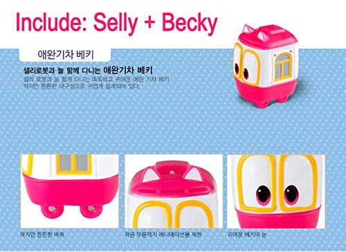 Robot Train Transformer Robot Selly (Included Becky) - Toy, Kids