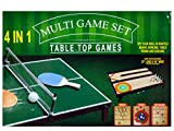 4 in 1 Tabletop Multi-Game Set - Pack of 2
