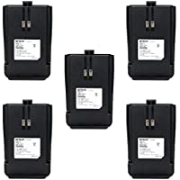 Retevis RT21 Two Way Radio Battery 1100mAh Li-ion Rechargeable Battery for Retevis RT21 Walkie Talkies (5 Pack)