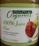 Central Market Organics 100% Pear Juice 32 Oz (Pack of 2)
