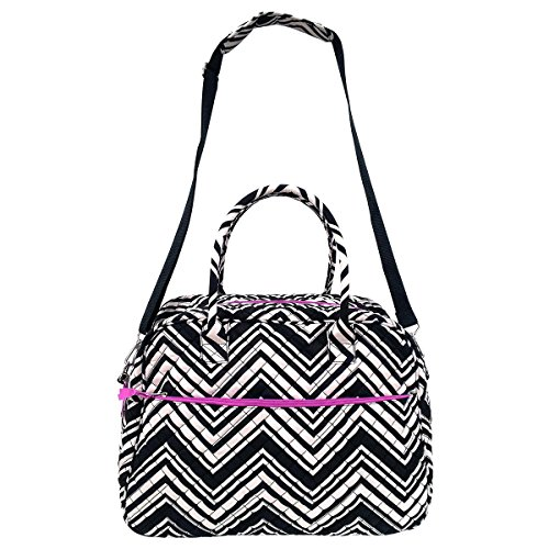 quilted cotton duffle bag - 2