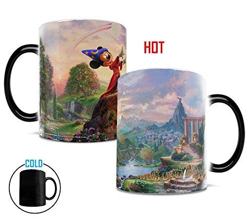 "Trend Setters Morphing Mugs Thomas Kinkade Disney ""Fantas..."