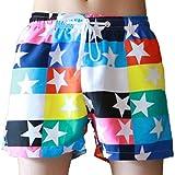 3X Beach Shorts,Beach Shorts Short for Men,Mens White Beach Shorts,Men's Shorts Swim Trunks Quick Dry Beach Surfing Running Swimming
