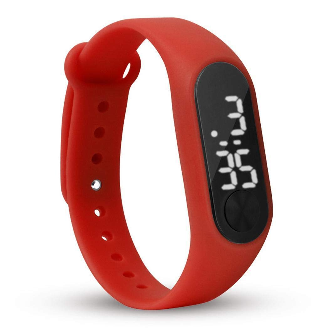 Cooshional Reloj Pulsera Inteligente Cuenta Pasos Calorías, Smartwatch Digital LCD Pantalla para Hombre y Mujer: Amazon.es: Relojes