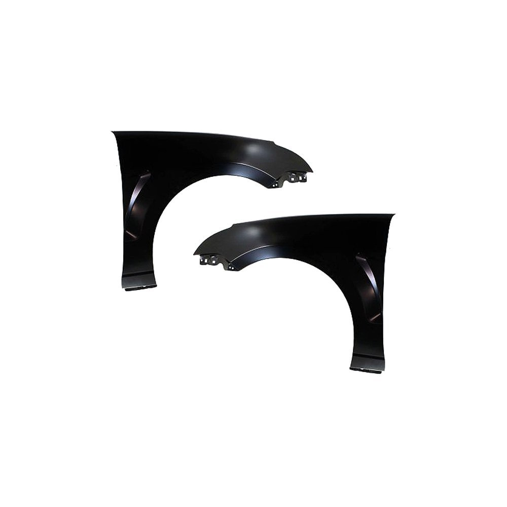 Evan-Fischer EVA16972057420 Fender for 2008-2011 Ford Focus CAPA Certified Set of 2 Steel Primed Front Left and Right Side