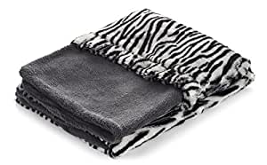 Snuggle Pet Products 3-in-1 Pocket Bed, Zebra