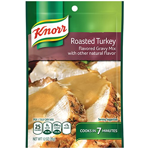 (Knorr Gravy Mix Gravy Mix, Roasted Turkey 1.2 oz (Pack of 12))
