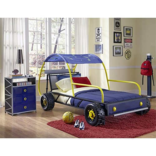 Powell 904-038 Dune Buggy Car Bed, Twin