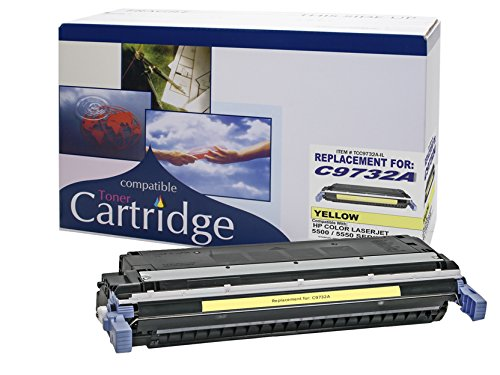 Remanufactured Toner Cartridge Replacement for HP SERIES 5500-5550 COLOR PRT. CTG. (YELLOW) (Cartridges 5550)