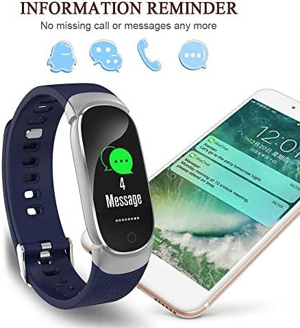 Lixada Fitness Tracker HR,Activity Tracker Watch with Heart Rate Monitor,IP67 Water Resistant Blood Pressure Oxygen Monitor with Pedometer Smart Bracelet for Android and iOS