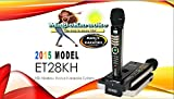 JUST ARRIVED! ENTERTECH ET28KH TAGALOG VERSION ONSTAGE DUAL WIRELESS MAGIC MICROPHONE -Replaces Magic Sing