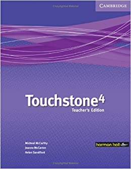 Touchstone harmon hall 4 teachers book with audio cd mexican touchstone harmon hall 4 teachers book with audio cd mexican edition michael mccarthy 9780521707909 amazon books fandeluxe Gallery