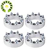 "AUTOSAVER88 4 PCS 2"" Chevy 8x6.5 Wheel Spacers Adapters 8 Lug for 14x1.5 Studs"