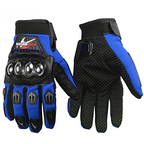 Motorcycle Steel Gloves Racing Full Finger Gloves Motocross motorbike Gloves guantes de moto glove