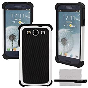 xhorizon TM Heavy Duty High Impact Shockproof Dirtproof Hard + Soft Defender Case Cover For Samsung Galaxy S3 i9300