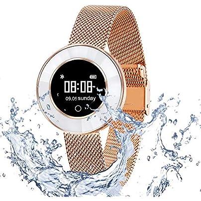 FGKING Fitness Tracker Women Sport Tracker Smart Watch Band Bracelet Heart Rate Monitor Women Swimming Wristband Watch with Health Sleep Activity Tracker Estimated Price -
