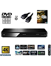 Panasonic DMP-BDT380 (MULTIREGION FOR DVD) Smart , 4K Upscaling, Blu-Ray Player with Built In WiFi, Miracast, 3D Conversion, & DLNA - Includes HDMI and a Title (SUBJECT TO AVAILABILITY)
