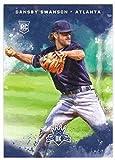 2017 Panini Diamond Kings Baseball Rookies RC #129 Dansby Swanson Braves