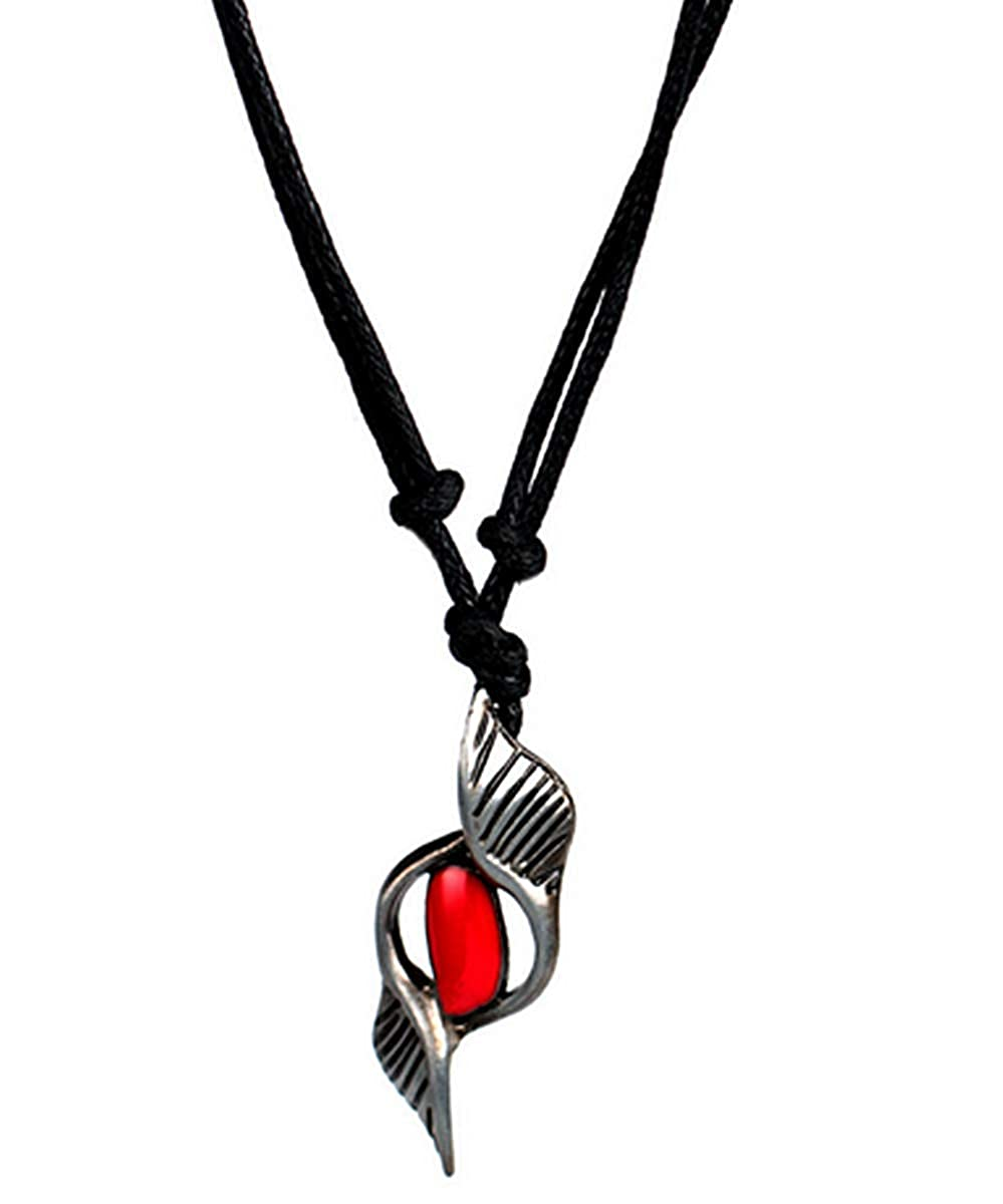 Fashion Jewery Devil May Cry Dante Devil Hunter Soul Stone Seelenstein Accessoires Anime Kristall Cosplay Halskette Halsschmuck Halsanhä nger rot GHB-022222
