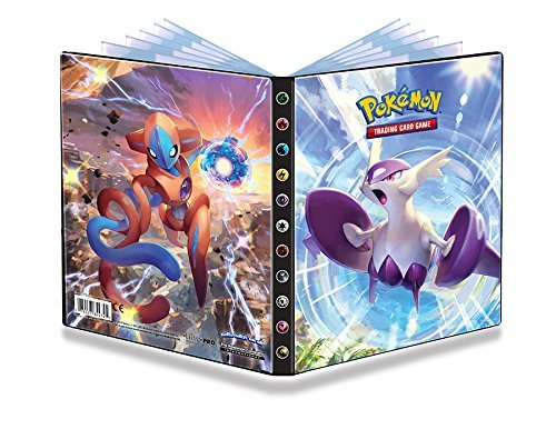 Ultra-Pro Mega Latios and Deoxys Pokemon Card Binder/4-Pocket Album (From XY: Roaring Skies)
