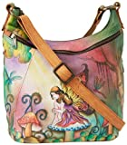 Anuschka 505 Hobo,Enchanted Fairy,One Size, Bags Central
