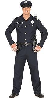 FIESTAS GUIRCA Traje Adulto de policía Oficial de policía Estadounidense 6e2357f48108