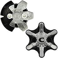 Champ Unisex's Zarma/Under Armour Spikes (20-Piece), Black/Silver, One Size
