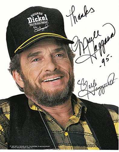 mouse pad gaming or computer merle haggard celebrity photograph rare find
