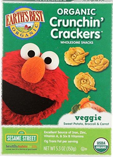 Earths Best Organic Crunchin Crackers