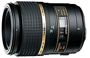 Tamron 272EE SP AF 90 mm F/2.8 Di Macro 1:1 - Objetivo para Canon (Distancia Focal Fija 90mm, Apertura f/2.8, Macro, diámetro: 55mm) Negro
