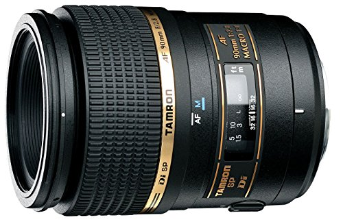 Tamron AF 90mm f/2.8 Di SP AF/MF 1:1 Macro Lens for Nikon Digital SLR Cameras - International Version