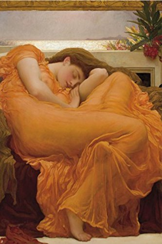 Frederic Lord Leighton Poster Adhesive Photo Wall-Print - Flaming June, 1895 (71 x 47 inches)
