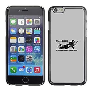 Stuss Case / Funda Carcasa protectora - No pase Landing Funn Cita del Rey - Apple Iphone 6 Plus 5.5