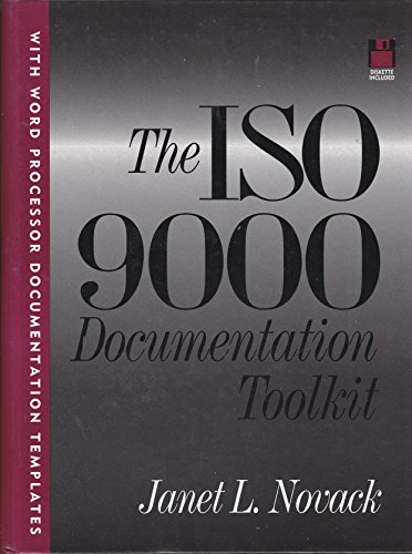 ISO 9000 Documentation Toolkit (B/D)
