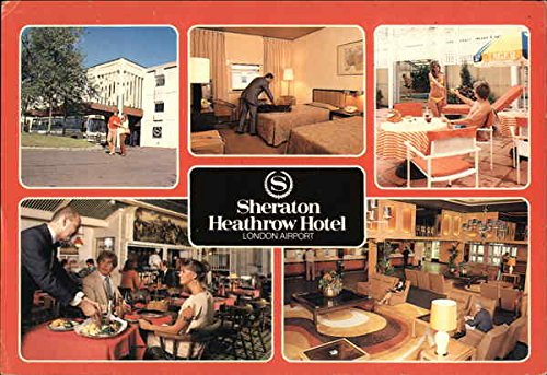Sheraton Heathrow Hotel London, England Original Vintage (London Heathrow Hotel)