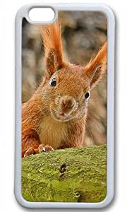 Cute funny squirre Easter Thanksgiving Masterpiece Limited Design TPU White Case for iphone 6 by Cases & Mousepads