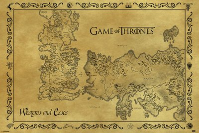 Poster Game Of Thrones - Antique Map - reasonably priced poster, XXL on world map, spooksville map, lord snow, a game of thrones collectible card game, jericho map, game of thrones - season 1, the kingsroad, works based on a song of ice and fire, walking dead map, a game of thrones, clash of kings map, justified map, camelot map, bloodline map, a storm of swords map, valyria map, qarth map, a clash of kings, a storm of swords, game of thrones - season 2, star trek map, fire and blood, winter is coming, sons of anarchy, dallas map, the prince of winterfell, gendry map, tales of dunk and egg, got map, a golden crown, downton abbey map, the pointy end, narnia map, themes in a song of ice and fire, a game of thrones: genesis, guild wars 2 map, jersey shore map, winterfell map,