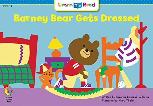 Barney Bear - Barney Bear Gets Dressed Learn to Read, Math (Math Learn to Read)