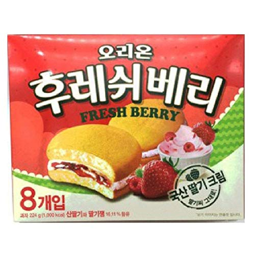 Orion New Fresh Berry 224g(8pcs) x 12 by Orion Confectionary (Image #1)