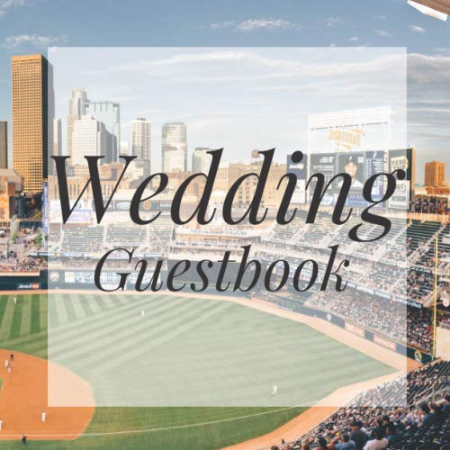 Wedding Guestbook: Baseball Sports Fan Player Event Signing Guest Book- Visitor Message w/ Photo Space Gift Log Tracker Recorder Organizer Address ... for Special Memories/Party Reception Table (Best Pen For Baseball Autographs)