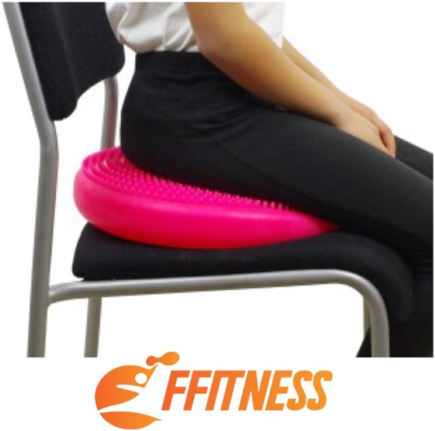 yoga antiestallidos Balance Cushion para casa pilates y rehabilitaci/ón de PVC Coj/ín para mejorar la estabilidad y el equilibrio hinchable fitness
