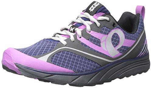 Pearl Izumi Women's W EM Trail M 2 V2 Running Shoe, Deep Indigo/Shadow Grey, 10.5 B US by Pearl iZUMi
