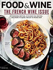 The world of food is huge, and Food & Wine magazine covers it thoroughly. From tasty gourmet recipes you can make at home to the best food lover's destinations, from handy tools that belong in every kitchen to a rundown of the world's mos...