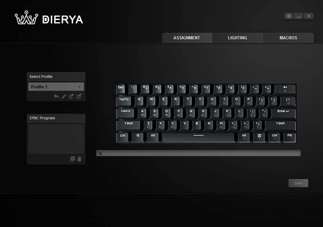 DIERYA DK61E 60% Mechanical Gaming Keyboard