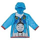 Thomas and Friends Little Boys Waterproof Outwear Hooded Rain Coat - Toddler