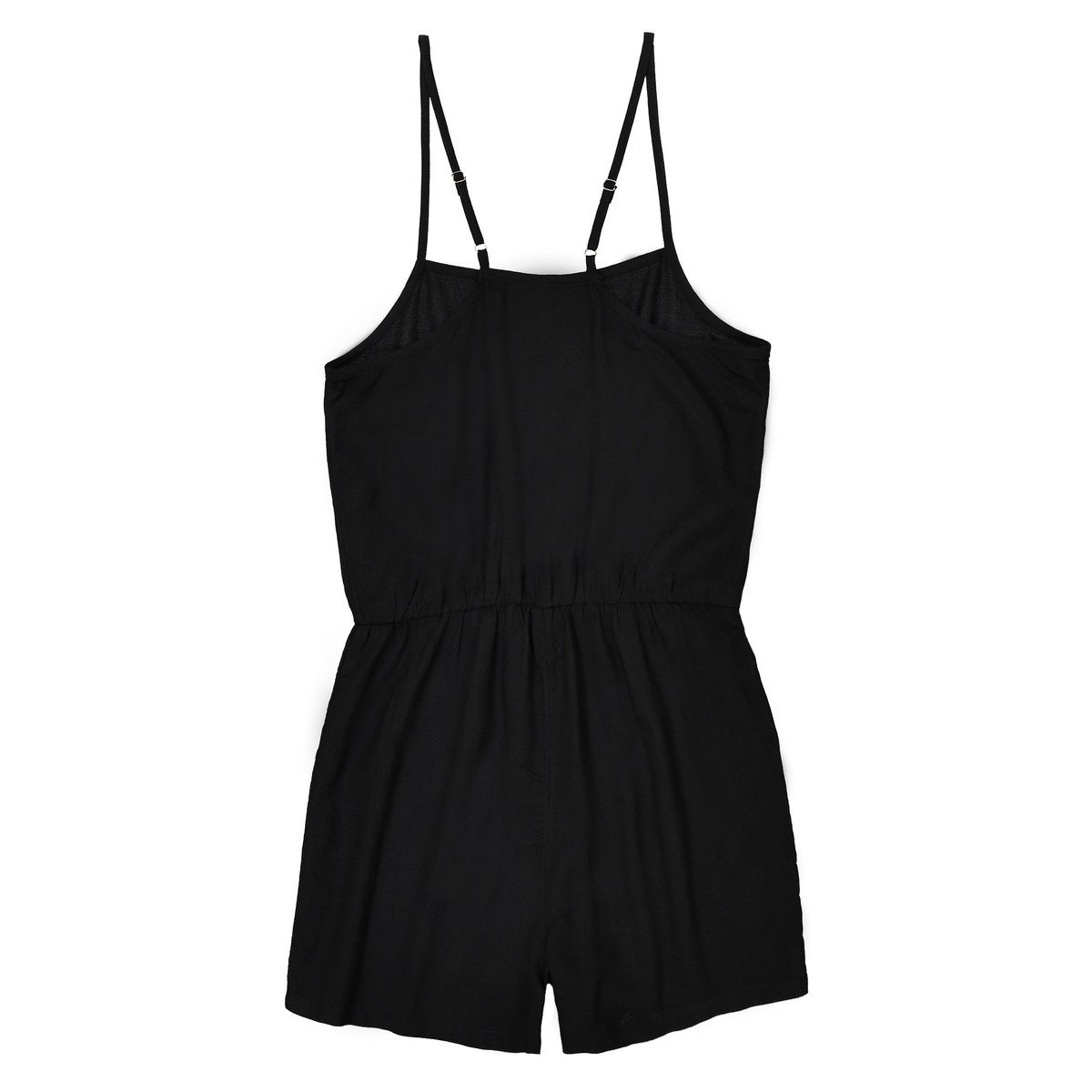 10-16 Years La Redoute Collections Big Girls Plain Playsuit
