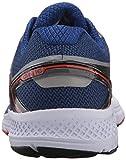 Saucony Men's Omni 16 Running Shoe, Grey Navy, 10.5