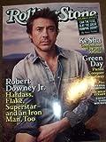 Rolling Stone Magazine May 13, 2010 Issue 1104 Robert Downey Jr Ke$ha Green Day Goldman Sachs Iron Man 2